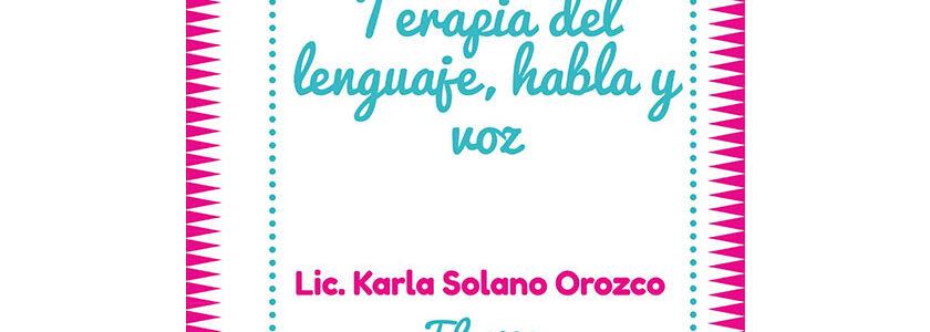 Licda. Karla Solano Orozco